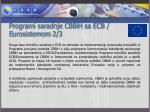 programi saradnje cbbih sa ecb e urosistemom 2 3