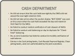 cash department1