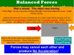balanced forces balanced forces no acceleration3