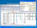 implementere modellen1