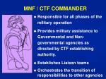 mnf ctf commander