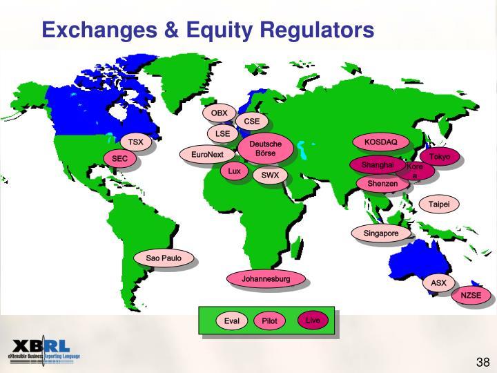 Exchanges & Equity Regulators