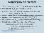 mapping by an antenna