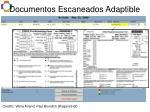 documentos escaneados adaptible