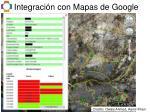 integraci n con mapas de google