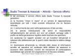 studio trevisan associati attivit servizio offerto