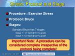 stress protocol and stage1