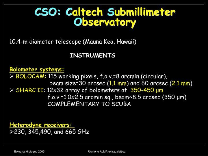 CSO: C