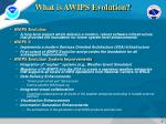 what is awips evolution