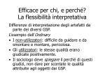 efficace per chi e perch la flessibilit interpretativa