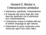 howard s becker e l interazionismo simbolico