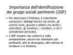 importanza dell identificazione dei gruppi sociali pertinenti gsp
