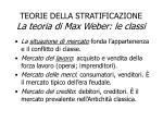 teorie della stratificazione la teoria di max weber le classi