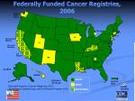 federally funded cancer registries 2006