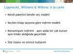 lippincott williams wilkins a la carte