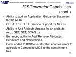 icsgenerator capabilities cont1