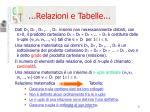 relazioni e tabelle1