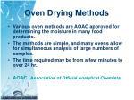 oven drying methods1
