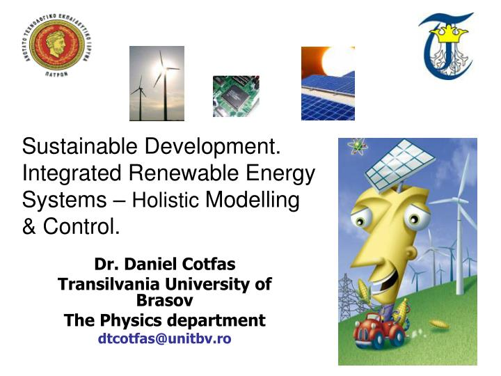 dr daniel cotfas transilvania university of brasov the physics department dtcotfas@unitbv ro n.