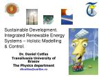 dr daniel cotfas transilvania university of brasov the physics department dtcotfas@unitbv ro