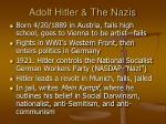 adolf hitler the nazis