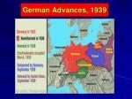 german advances 1939