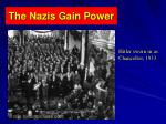 the nazis gain power