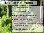 best treatment method