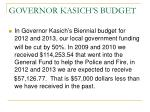 governor kasich s budget