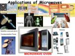 applications of microwaves