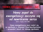 nowa ewangelizacja def2