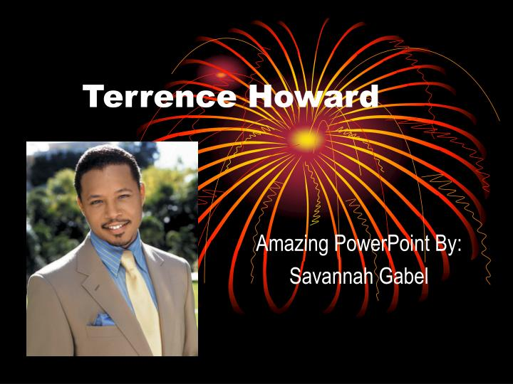 terrence howard n.