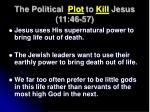 the political plot to kill jesus 11 46 573