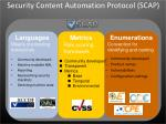 security content automation protocol scap1
