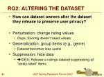 rq2 altering the dataset