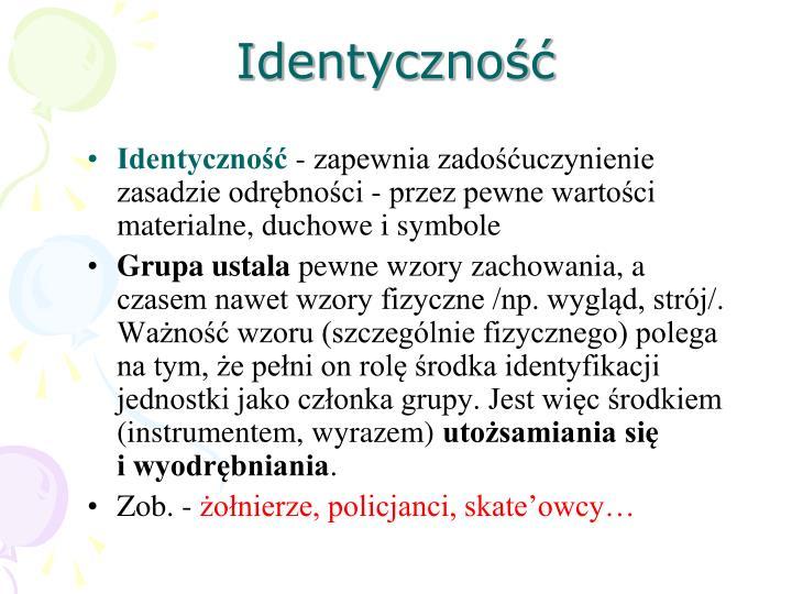 Identyczność