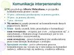 komunikacja interpersonalna1