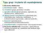 typy grup i kryteria ich wyodr bnienia