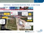 germany successful business hub a case study
