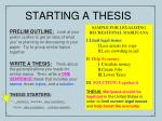 starting a thesis1