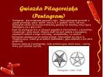 gwiazda pitagorejska pentagram