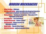 modern muckrakers