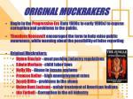 original muckrakers