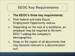 eeoc key requirements