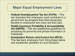 major equal employment laws3