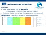 option evaluation methodology