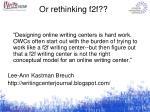 or rethinking f2f