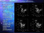 the sweet spot for star formation efficiency