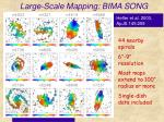 large scale mapping bima song