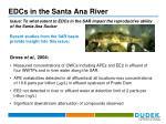 edcs in the santa ana river